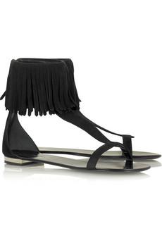 BalmainTassel ankle sandals
