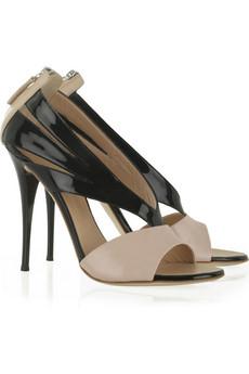 Giuseppe Zanotti Cutout patent sandals