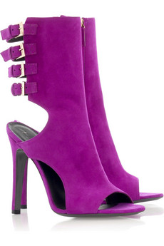 Halston Cluny cutout boots