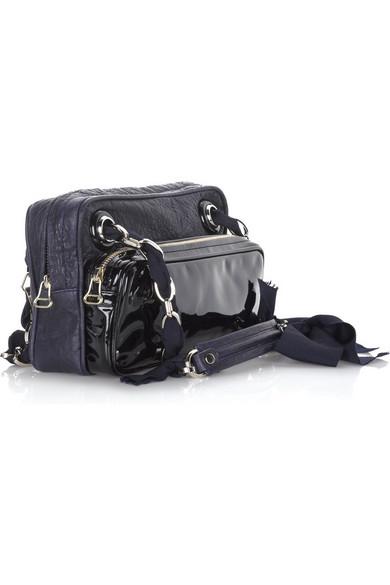 614ad14f0ac09 Reporter leather shoulder bag