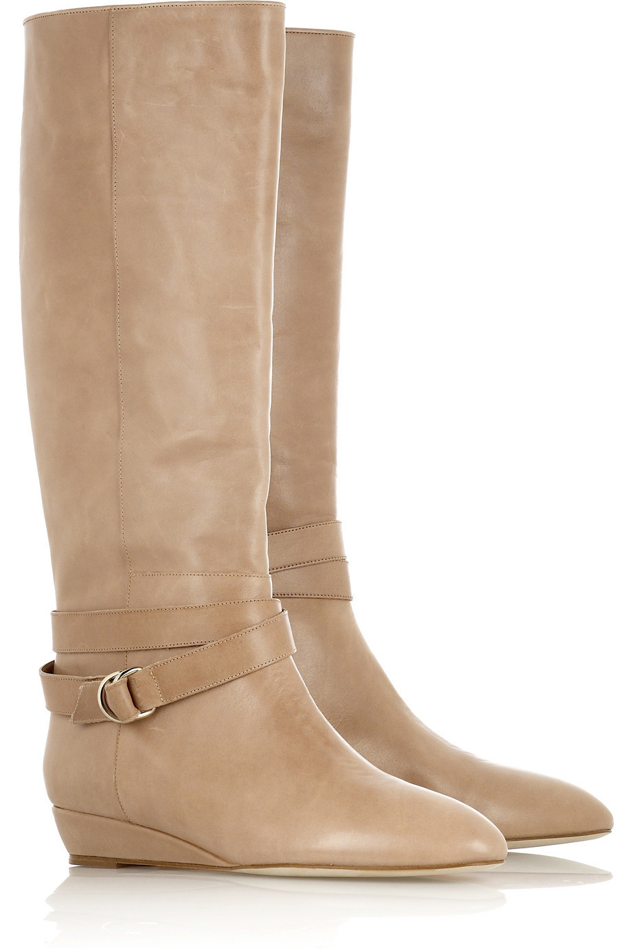 Loeffler Randall Leather riding boots | NET-A-PORTER.COM from net-a-porter.com