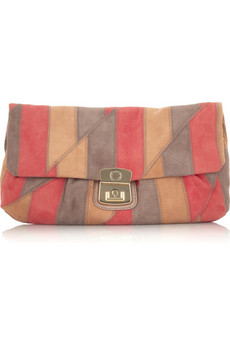 Marc by Marc Jacobs Linda suede clutch  | NET-A-PORTER.COM from net-a-porter.com