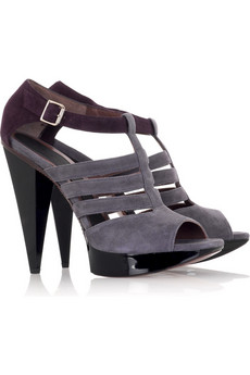 Marni T-bar suede sandals  | NET-A-PORTER.COM from net-a-porter.com