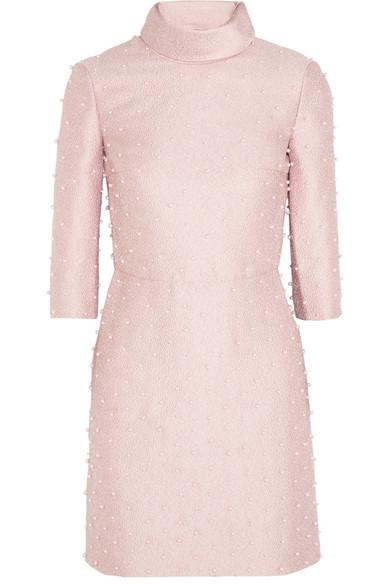 Sale alerts for Paloma Swarovski faux pearl-embellished jacquard dress Emilia Wickstead - Covvet