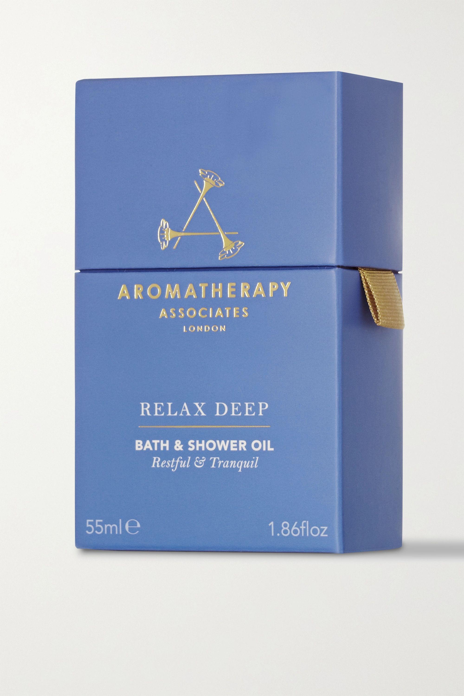 Aromatherapy Associates Deep Relax Bath & Shower Oil, 55ml