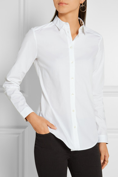 Burberry Shirt In Stretch Cotton