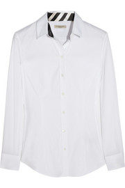 Burberry London Cotton-blend shirt