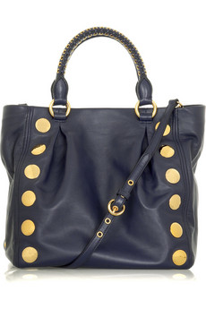 Miu Miu Studded shoulder bag