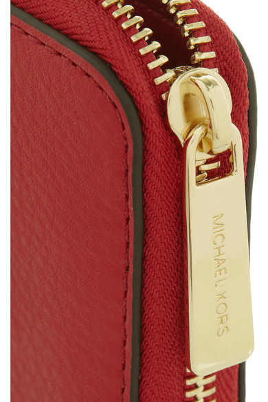 e55455868efd MICHAEL Michael Kors. Bedford textured-leather continental wallet.  52.24.  Zoom In