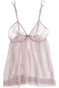 Burberry Chiffon bow camisole