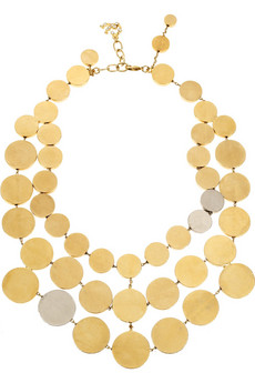 Christian Lacroix Triple strand necklace