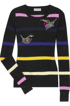 Sonia Rykiel Cashmere blend striped sweater