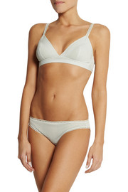 Stella McCartney Viola Dozing stretch-mesh briefs