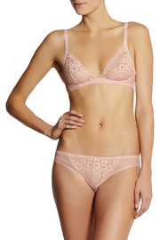Stella McCartney Isabelle Wondering lace underwired bra