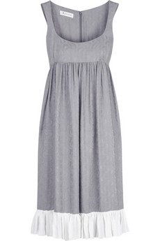 Aquascutum The Serpentine frill dress