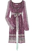Bally Printed silk tunic dress