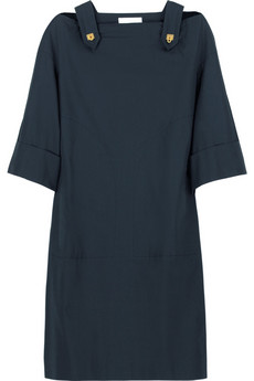 Chloé Fastening shoulder dress