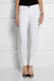 Rag & bone Stretch cotton-blend leggings-style jeans