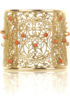 Isharya Moon Bali filigree cuff