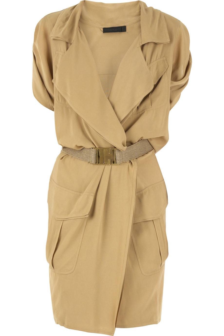 Donna Karan Silk shirt dress | NET-A-PORTER.COM from net-a-porter.com