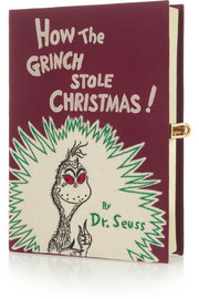 How The Grinch Stole Christmas embroidered clutch