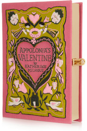 Appolonia's Valentine embroidered clutch