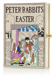 Peter Rabbit's Easter embroidered clutch