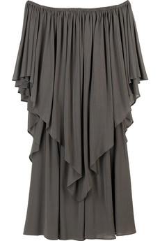 Halston Tiered ruffle dress