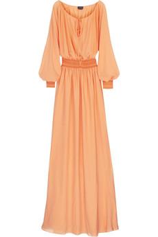 HalstonBlouson full-length gown