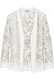 L'Wren Scott Embroidered short jacket  | NET-A-PORTER.COM from net-a-porter.com