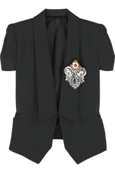 Matthew Williamson Cotton cropped jacket