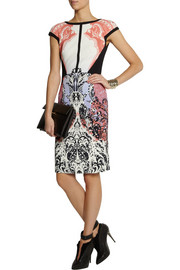 EtroPrinted crepe dress