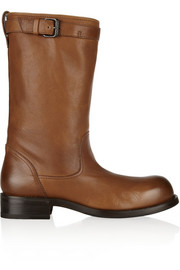 Bottega Veneta Leather biker boots