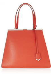 Fendi 3Jours medium textured-leather shopper