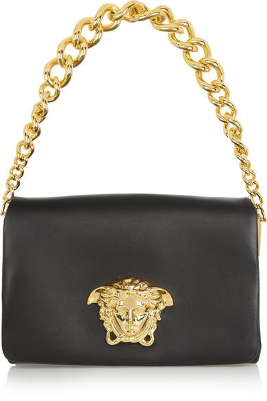 Sale alerts for Leather shoulder bag Versace - Covvet