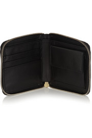 Marni Metallic leather wallet