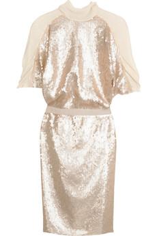 ThakoonGhost silk sequin dress
