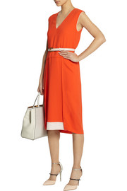 Fendi Stretch-georgette dress