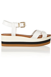 Fendi Hydra PVC wedge sandals