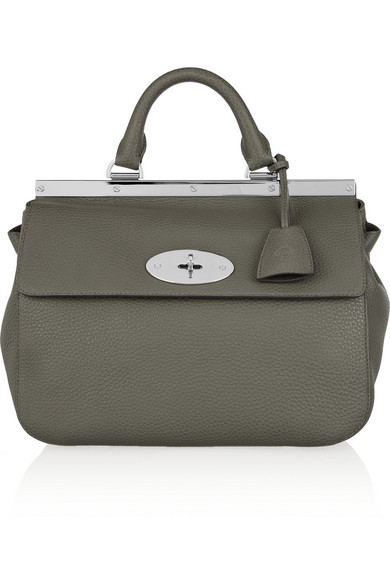 6f3ca5b3893f Mulberry. Suffolk small grained-leather tote