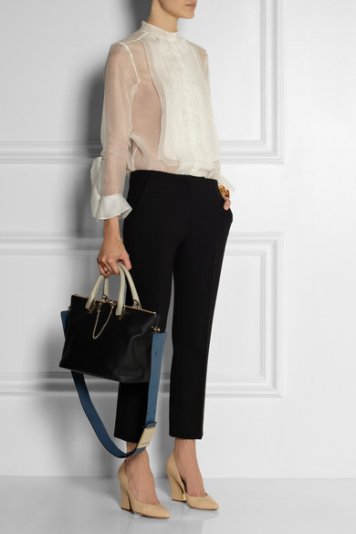 Chlo¨¦ | Baylee medium leather tote | NET-A-PORTER.COM
