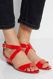 Jimmy ChooChiara patent-leather sandals