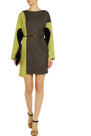 M MissoniColor-block knitted dress