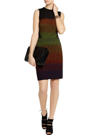 M MissoniNeon crochet-knit mini dress