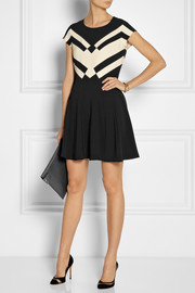 Diane von FurstenbergGail stretch-crepe mini dress