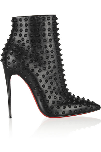 online store 29fbb ddfdd Snakilta 120 spiked leather ankle boots