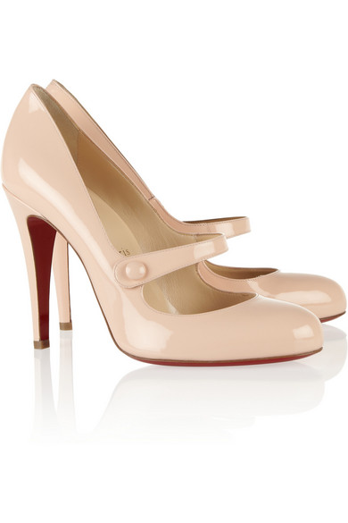 christian louboutin mary-jane pumps