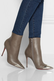 Calamijane cap-toe leather ankle boots
