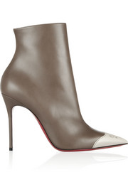 Christian Louboutin Calamijane cap-toe leather ankle boots