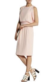 ThakoonDraped crepe dress